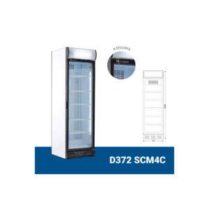 Βιτρίνα Αναψυκτικών Συντηρητής D372 SCM4C