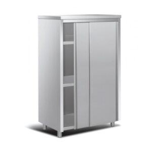 Ντουλάπα Σκευών με Συρόμενες Πόρτες & 3 Ράφια EDS 187