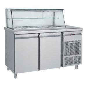 Ψυγείο Σαλατών με Βιτρίνα SM 185