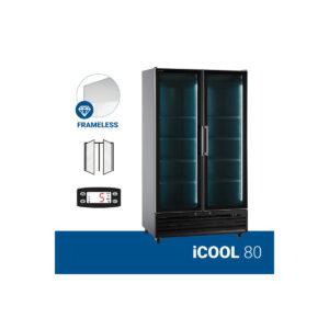 Βιτρίνα Αναψυκτικών Συντηρητής iCOOL 80